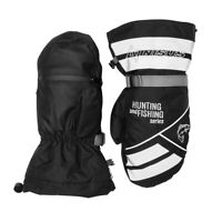Professional Ice Fishing Winter Waterproof Breathable Insulated Mittens XL