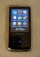 Samsung Yp-Q2 (8Gb) Digital media Mp3 Player Black. Works great, Good condition