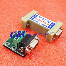 5pcs RS232 to RS485 1.2KM Data Interface Adapter Converter 9 Pin NEW M104