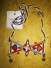 Masai Massai Fair Trade jnmg18 African Maasai Good Luck necklace