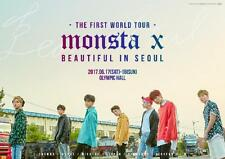 MONSTA X 17.6.17~18 The 1st world tour Beautiful in Seoul Official Program book