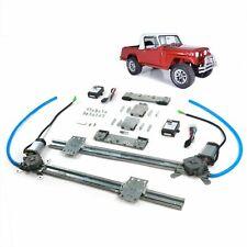 Jeep Commando 1966-1973 One Touch FLAT GLASS Power window kit LIFT Regulator 4x4