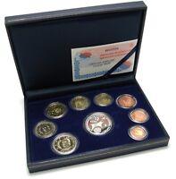 Spanien 1 Cent bis 2 Euro 2002 KMS mit 12 Euro Präsidentschaft Polierte Platte