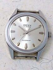 Vintage USSR Soviet NOS Men's Wrist Watche 17 Jewels Cal. Poljot 2609 Silver