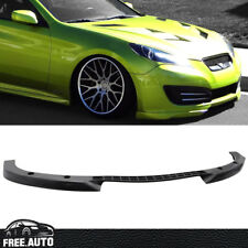 For 10-12 Genesis Coupe JDM Style Front Bumper Lip Spoiler Bodykits Black PU