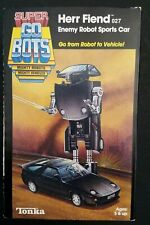 Super Go Bots Herr Fiend 027 Enemy Robot Sports Car Japan Tonka - Porsche
