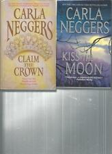 CARLA NEGGERS - CLAIM THE CROWN - A LOT OF 2 BOOKS