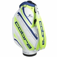 Cobra Golf Limited Edition US PGA Major Tour Staff Bag - White/Lime/Green