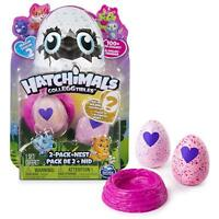Hatchimals 6041329  Colleggtibles With Nest Playset (Pack Of 2) Spinmaster Toy