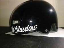 Shadow Conspiracy Classic Helmet  Gloss Black, Small/Medium (50-56cm) BMX helmet