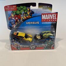 Marvel Universe Maisto Die Cast Cars Versus Thor Vs Loki New Sealed