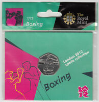 2011 Royal Mint London 2012 Brand New Sealed Olympic 50p coin Pack free P+P uk