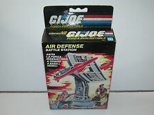 1985 GI JOE AIR DEFENSE 100% COMPLETE MIB SEALED CONTENTS - HASBRO