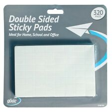 320 Double Sided Foam Adhesive Sticky Pads Squares Rectangles Arts Crafts Office