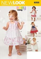 simplicity Infant's Dress Sewing Patterns