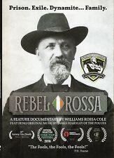 Rebel Rossa Documentary DVD About  Jeremiah O'Donovan Rossa Irish Revolutionary