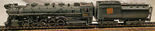 Brass Central Vermont 2-10-4 #700 Steam T-3a HO Scale PFM Painted