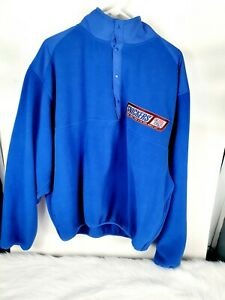 Vintage World Cup USA 94 Mens Jacket Snickers USA Long Sleeve Blue Soccer XL