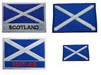 Scotland flag iron on patch badge