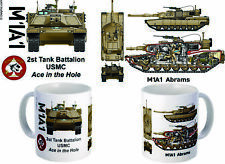 """2nd Tank Battalion """"Ace In The Hole"""" M1A1 Mug"""