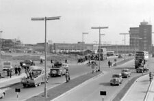 PHOTO  LONDON AIRPORT HEATHROW 1955 APPROACH TO CENTRAL TERMINAL AREA