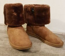 DESTOCKAGE BOOTS MONTANTES TAILLE 41 / BOOTS MARRON (NO UGG)