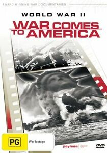 World War II - War Comes To America (DVD, 2002 release)