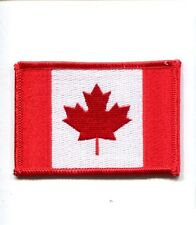 Canada National Canadian Flag Maple Leaf Hat Jacket Country Patch