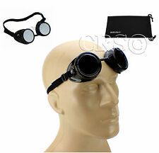 BIKER MOTORCYCLE SPORT GOGGLES SUNGLASSES GLASSES PILOT AVIATION TYPE STEAMPUNK