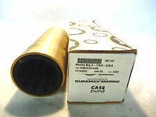 NEW IN BOX DURAMAX MARINE 2-1/4x3-1/4x3-3/8x9 CASE RUBBER BEARING WITH BRASS