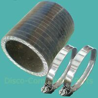 Land Rover Discovery 300 TDi Bottom Intercooler Hose & Stainless Steel Clamps