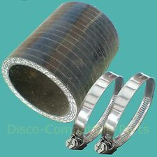 Range Rover Classic 200 TDi Bottom Intercooler Hose & Stainless Steel Clamps