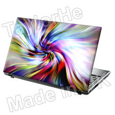 "15.6"" Laptop Skin Cover Sticker Decal colour swirls 175"