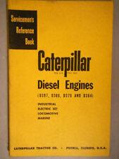 Caterpillar Diesel Engines D397, D386, D375, D364