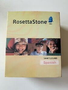 RosettaStone Levels 1-5 Spanish Learning