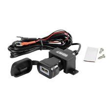 LAMPA PILOT PRESA USB MOTO AUTO CON SELETTORE AMPERAGGIO TUNING 12V 24V CAMION