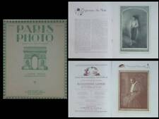 PARIS PHOTO 1921 - REVUE, PICTORIALISME, PAUL NADAR, ROBERT GEOFFROY, LANVAL
