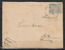 Türkei alter Brief von Jaffa nach Arth/Schweiz, 1895