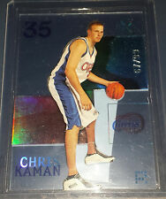 Chris Kaman 2003-04 E-X ESSENTIAL CREDENTIALS NOW Rookie Insert Card (# 67/99)