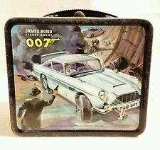 James Bond Secret Agent 007 Lunch Box Aladdin Industries 1966 Rare...