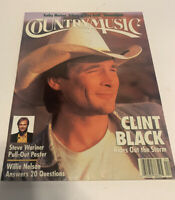 Vintage Country Music Magazine March/April 1993 Clint Black Cover