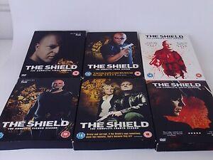 the shield dvd box set season 1 2 3 4 5 6