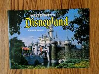 "Vintage 1977""Walt Disney's Disneyland A Pictorial Souvenir"" Booklet-SHIPS FREE!"