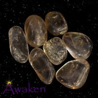 *ONE* SMOKEY QUARTZ Natural Tumbled Stone Approx 15-20mm *TRUSTED SELLER*