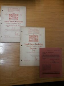 WW2 WWII British Army Small Arms Training Pamphlets
