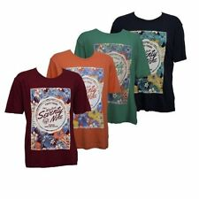 Unbranded Graphic Stretch T-Shirts for Men