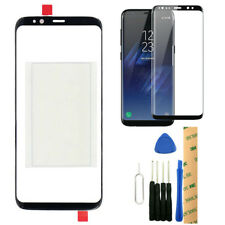 For T-Mobile Samsung Galaxy S8 G950T Front Glass Lens Screen + Protector OCA