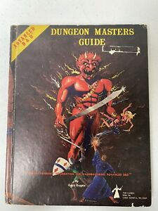 D&D, AD&D, 1ST EDITION DUNGEON MASTERS GUIDE, 1979, GOOD CONDITION, GARY GYGAX