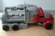 Transformers Age Of Extinction Optimus Prime Silver Knight