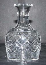 Thomas Webb Cut Crystal Glass Whisky Measure 1930s